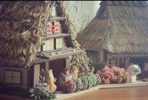 Diorama, miniatures, shadow boxes