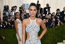 Red Carpet Celebrity Glam / Glam hair teamed with amazing outfits. Love.