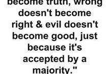 All About Truth / Quotations about the importance of being truthful