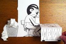 Art: 3D Paper Art
