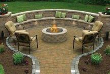 Outdoor Spaces / Places to kick back and stare at the stars or, entertain friends and family