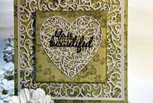 Cards | Doily Dies #CoutureCreations / Cards created using Couture Creations Doily Dies #CoutureCreations