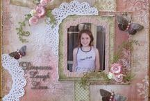 Scrapbooking | Doily Dies #CoutureCreations / Layouts created using Couture Creations Doily Dies #CoutureCreations