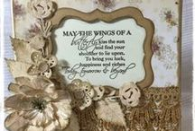 Cards | Dies #CoutureCreations / Cards created using Couture Creations Decorative and Nesting Dies #CoutureCreations