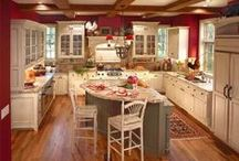 Kitchens I'd Love to Cook In... / Ideal dream kitchens for that ideal dream house.