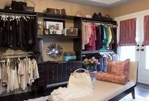 Would Love to Have This Closet / A place for everything.