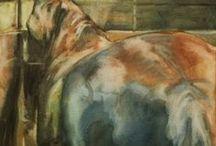 Benedicte Gele horse painter / artiste peintre amoureuse des chevaux Benedicte Gele   nous ouvre dans ses dessins peintures  les portes  vers  l'âme de ces êtres sensibles que sont les chevaux  ... !!