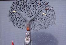 céramique Helène Rousseau Sellier Duplessis /  monde magique ..  céramique extraordinaire de précision et de détail ...  voir en vrai et de très près ce travail  fut  un vrai bonheur