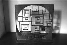 sculpteur Stéphane Rozand /  aux Ateliers d'Argenteuil ,  créateur sur métal, S.ROZAND travaille à base de récup'. Sculpteur, créateur de mobilier, son univers est puissant.