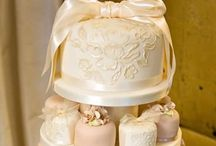 Classic Wedding Cakes / Classic style wedding cakes, sweets and decoration including either buttercream or fondant / marzipan cakes.