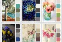 Color palette / Colors / Tones / Сочетание цветов / Цветовые сочетания. Цветовые палитры