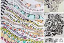 Zentangle and Doodle / Zentangles