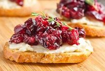 Classy Appetizers / Gorgeous (and simple!) appetizers-- finger food meant for a swanky shindig