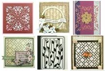 Background Gallery 2 | #ultimatecrafts / Background decorative dies for papercrafting, cardmaking scrapbooking #couturecreationsaus #ultimatecrafts #artdecocreations