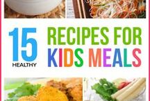 Recipes For Kids / Whether you are wanting you children to branch out and become more independent with learning how to bake or cook, or want to spend quality time, these recipes are perfect for any one of any age!