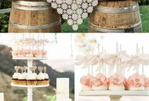 Rustic Cakes / Rustic is the new 'cool' in the wedding world, but can suit so many other occasions as well!