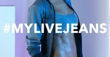 #mylivejeans / JEANS, JEANS, JEANS! Collect our different denim-wash-colors for looks full of style and comfort!