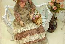 Текстильные куклы. Muñecas de tela.