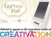 GoPress and Foil Machine | Couture Creations Anna Griffin