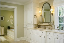 Bathroom / Powder Room Design & Decor / Simple, elegant and purposeful solutions for a beautiful yet functional rest room.