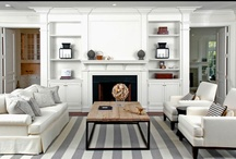 Living Room / Family Room Design & Decor / As the hub of the house, these rooms must be multi-functional and family friendly.