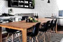 Hemma / Scandinavian aesthetic. White, black, grey with pops of colors. Many many plants. Modern minimalist with different textures and natural/wood accents. Anything related to Homemaking/family. Green, non toxic, and eco living.