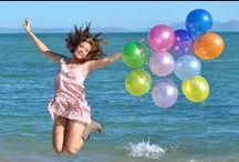 Ƹ̴Ӂ̴Ʒ Ballons Photography Ƹ̴Ӂ̴Ʒ / Fotografias tomadas utilizando globos.