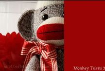 The Ancestors / Everyone has extended, old branches on their family tree...well, these are ours! Sock monkeys have been around for years and years, Planet Sock Monkey just stepped it up a notch or twenty! 