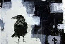crows, ravens and .... / ......birds of black