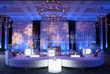 Draping and Fabric by Art of the Event / Some of the draping and fabric work we've done