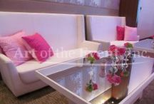 Furniture by Art of the Event / Our craftsmen build our furniture pieces in house.
