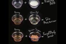 Natural Skincare & DIY / DIY gör-det-själv recept och naturliga alternativ för hudvård och hårvård kan du hitta här.