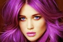 Cool Hair Color - Multi Colored Hairstyles that Rock / Multi colored hair | Just plain GORGEOUS hair color in some way.   Hair Color Girls - www.thehairweb.com