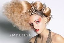 Hair Models - with striking hair | model hairstyles / Gorgeous models showing their super sexy and beautiful hair!!  Hairstyles | Models hair | Beauty and more - www.thehairweb.com
