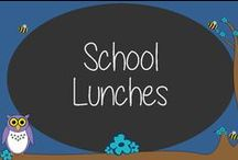 School Lunches / In a crunch about what to make for school lunch?  Our board is a collection of ideas to step away from the plain sandwich.  Enjoy!