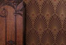 Art Deco tapeter
