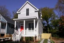 The Willow: 612 Dorothea, Raleigh NC / The Willow: 16' x 34', 2br 1 1/2 bath,