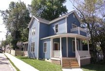 The Modern: 601 W. Cabarrus St / This house was directly inspired by a 1920's Sears kit house called the modern.