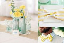 Yellow wedding theme ideas