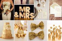 Gold Wedding Theme Ideas