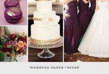 Purple/Plum Wedding Theme Ideas
