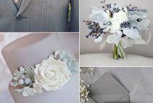 Grey wedding theme ideas