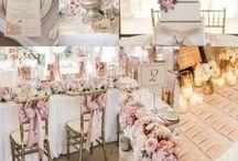 Pink/Blush Wedding Theme Ideas