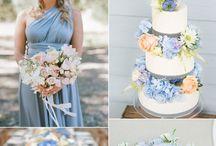 Soft blue wedding ideas