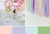 Pastel wedding theme ideas