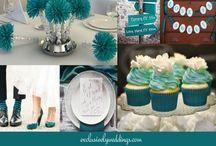 Teal Wedding Theme Ideas