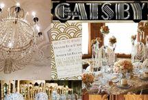 Gatsby Wedding Inspiration / Wonderful ideas for a 1920's wedding!