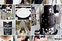 Black and White Wedding ideas / A wonderful board created to get ideas for a truly classic black and white wedding!
