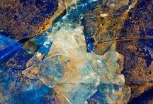 Mineral; flerfärgade