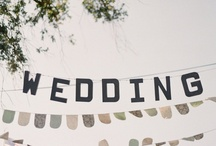 Wedding plans. / Inspiration and ideas for a rustic and romantic wedding.
